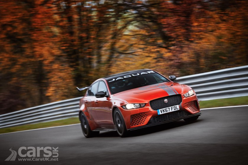 Jaguar XE SV Project 8 breaks the Nurburgring lap record