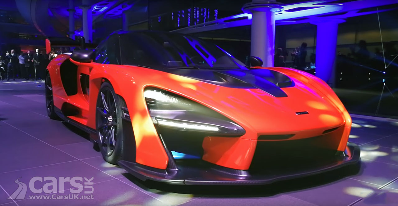 McLaren Senna revealed as ultimate road-legal track auto