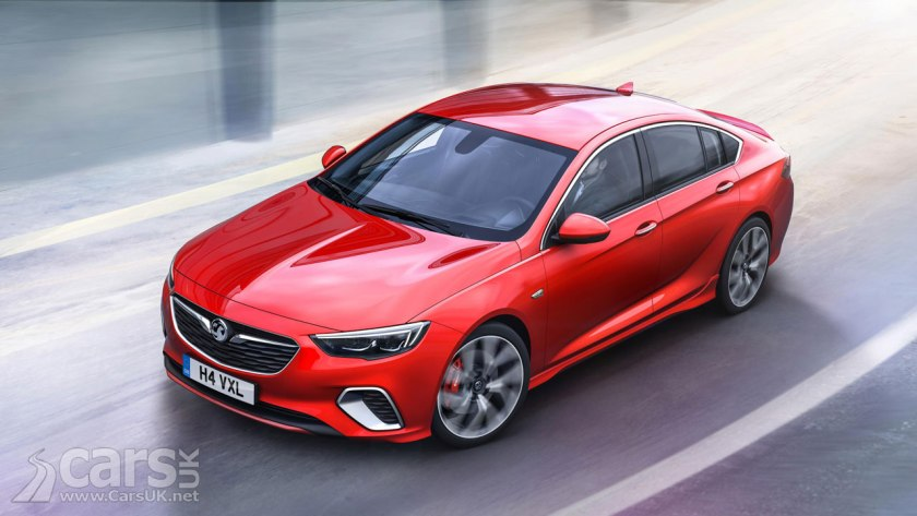 Vauxhall Insignia GSi costs from £33,375