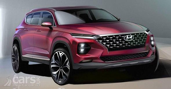2018 Hyundai Santa Fe SUV revealed