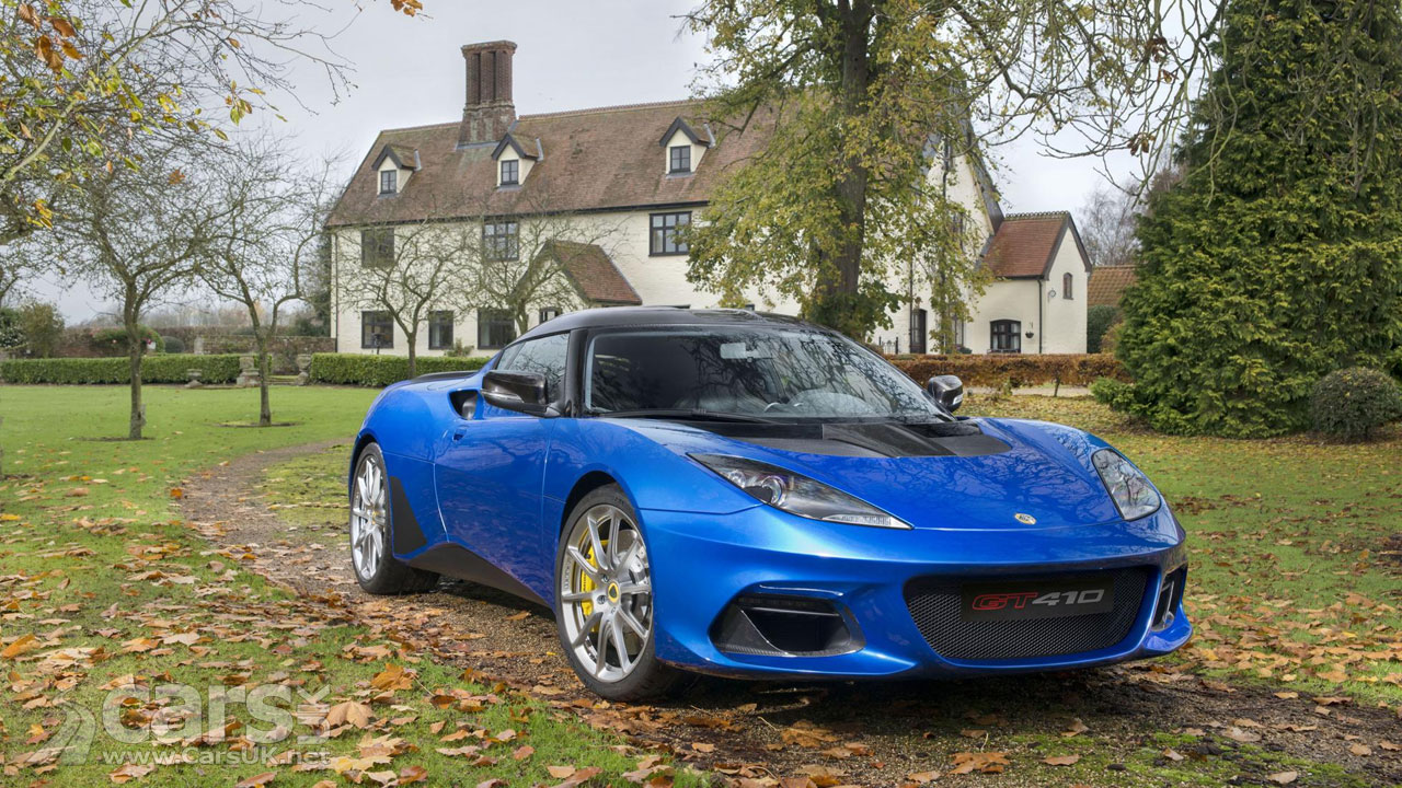 Lotus Evora GT410 Sport launched as bridge to GT430 supercar