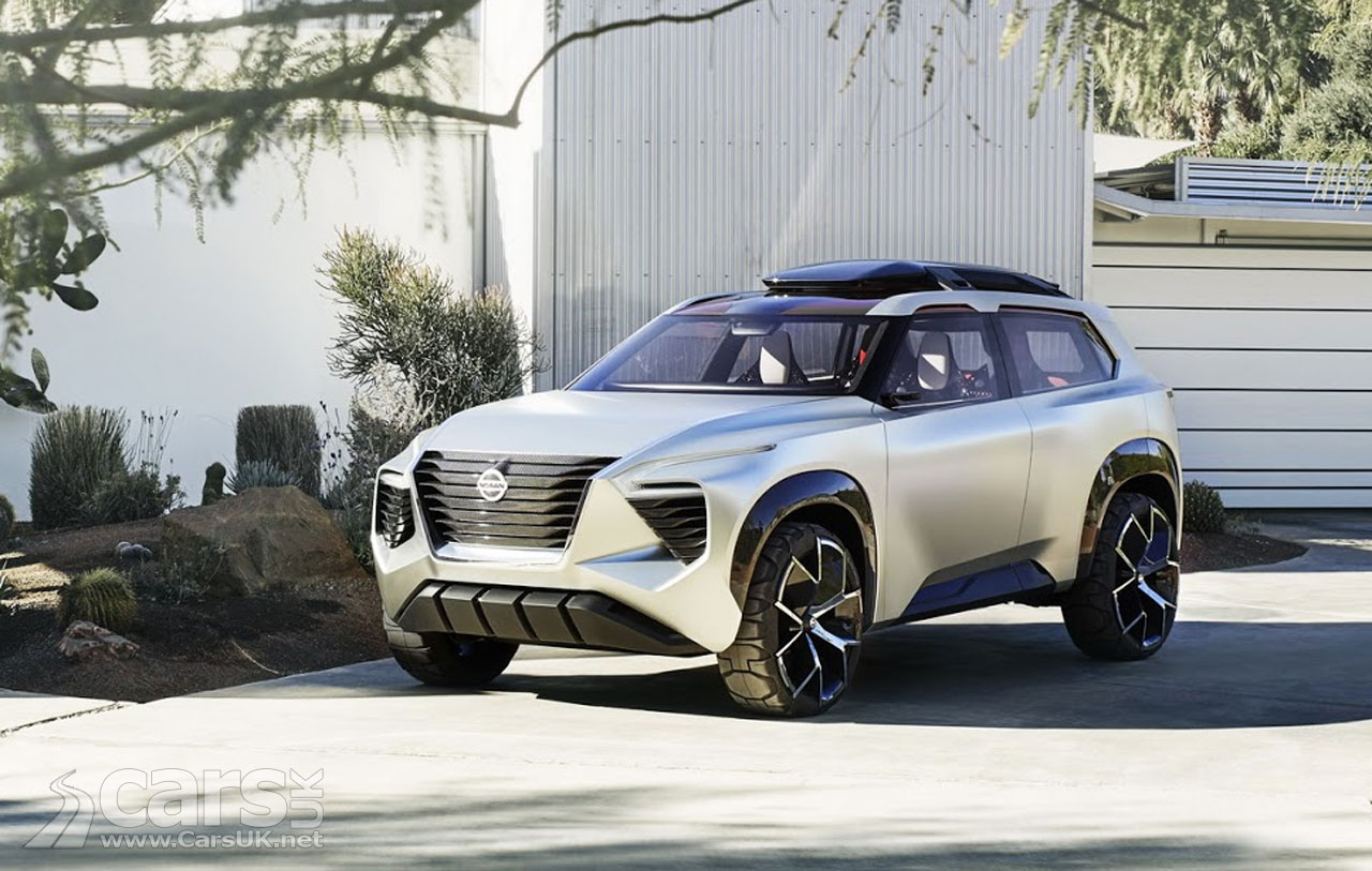 Nissan Xmotion Concept blends Japanese culture & American utility