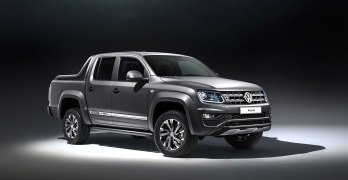 Volkswagen Amarok Dark Label Pick-up takes aim at the Mercedes X-Class