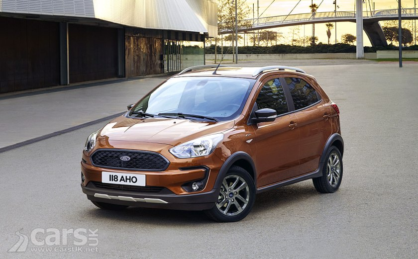 The New Ford Ka Active Crossover Pictured Joins Fords Titivated  Ka Range