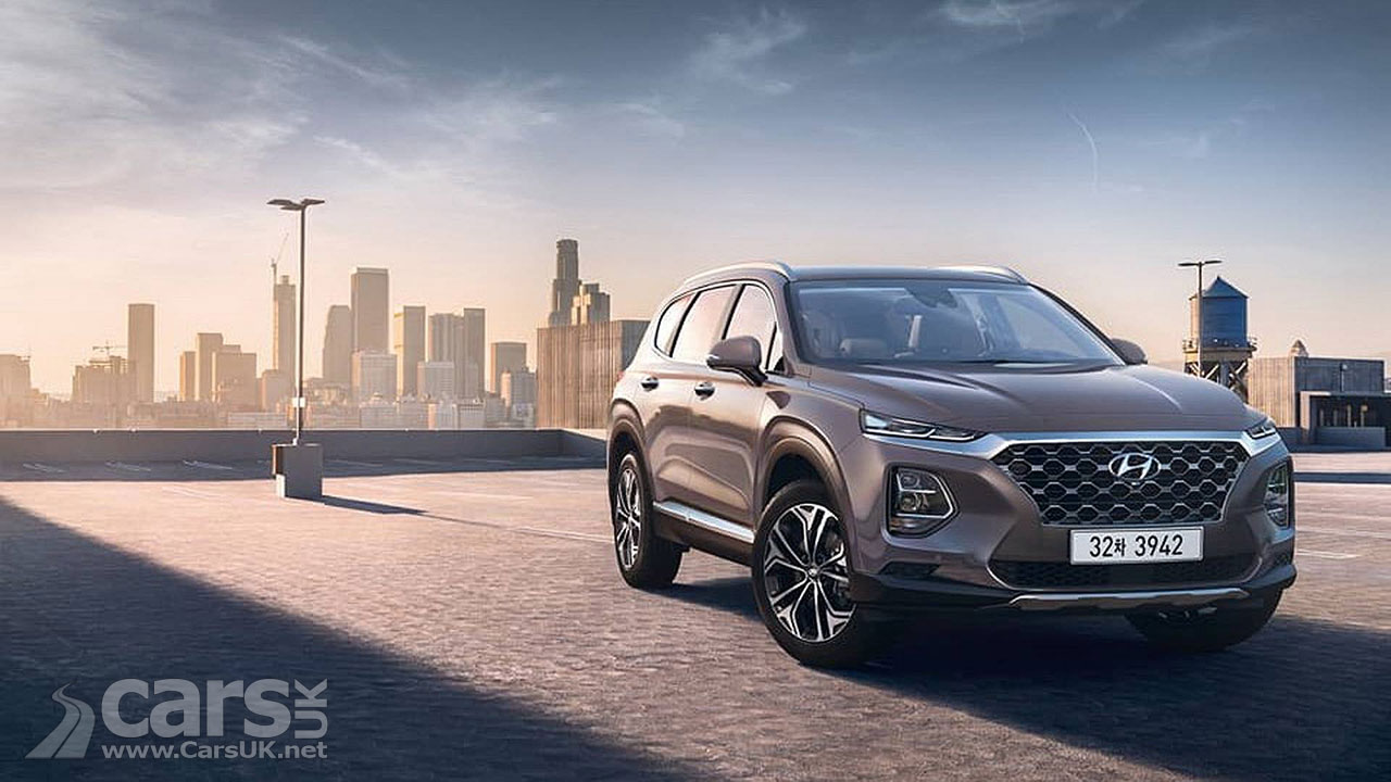 Hyundai's new Santa Fe revealed in Korea