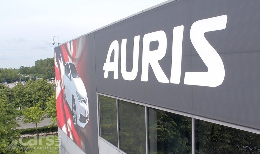 2018 Toyota Auris will be BUILT IN THE UK