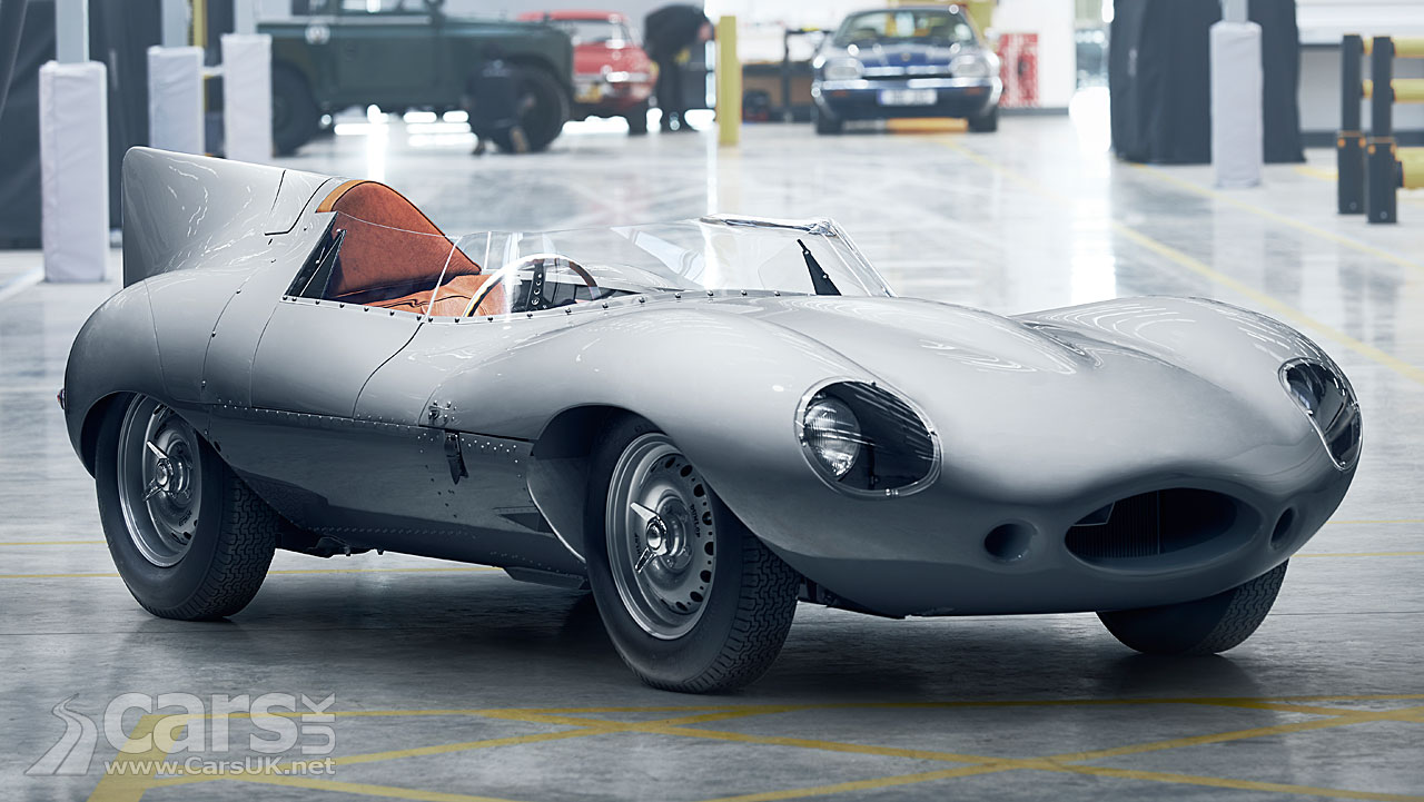 Jaguar Will Build 25 New Classic D-Type Roadsters