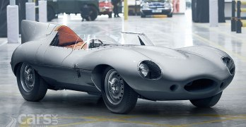 Jaguar D-Type back in PRODUCTION after 60 years (+ video)
