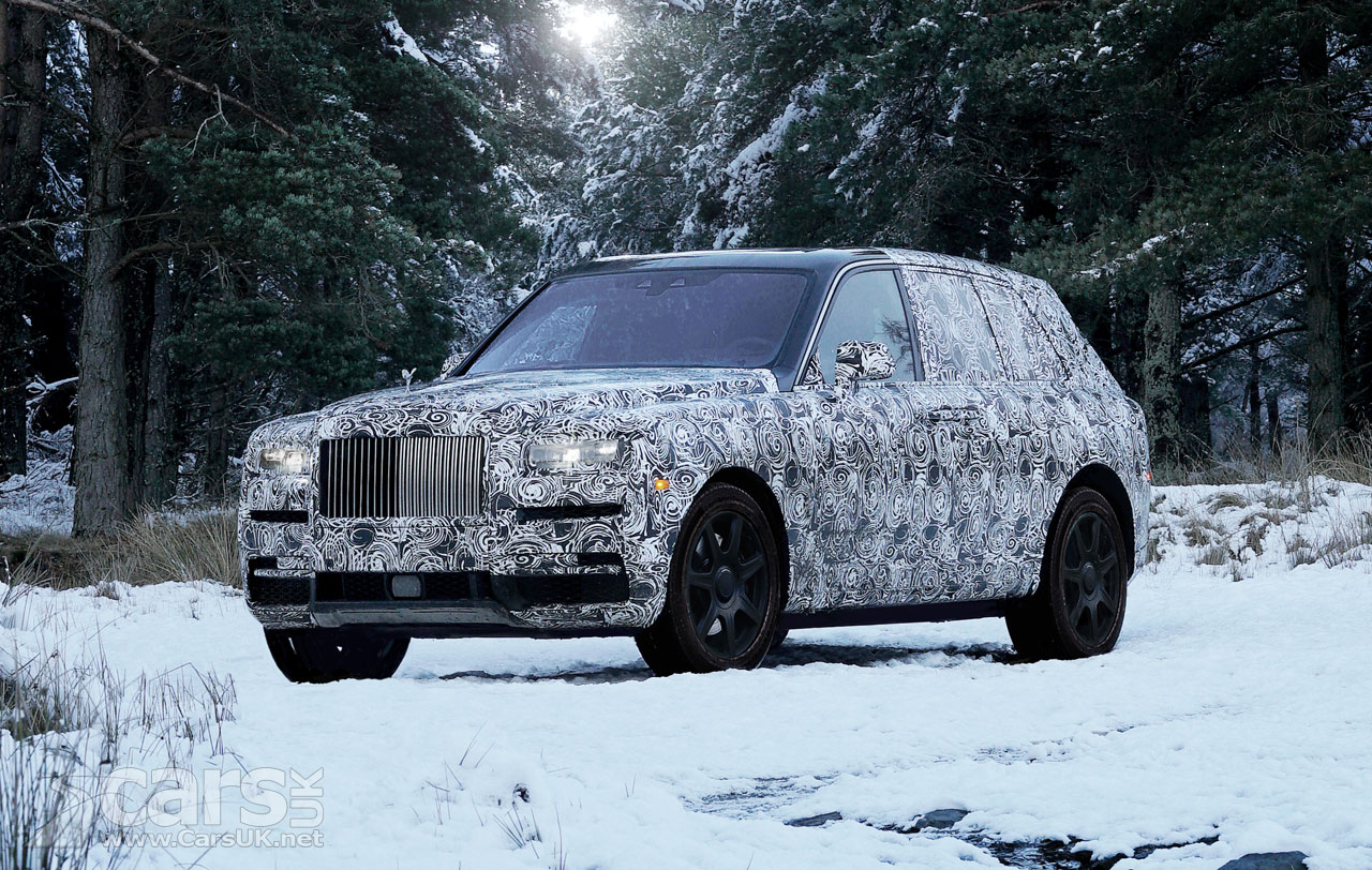 Cullinan name confirmed for first Rolls-Royce SUV