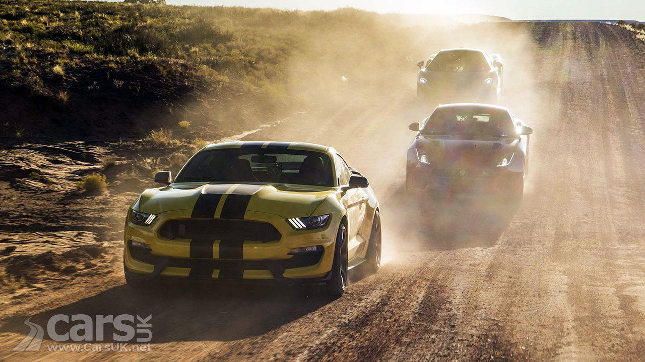 Mustang Hennessy, Jaguar F Type SVR And McLaren 570GT On Top Gear