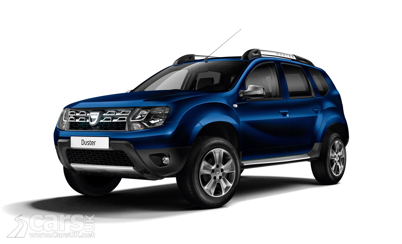 New trim options for Dacia Duster | New Release