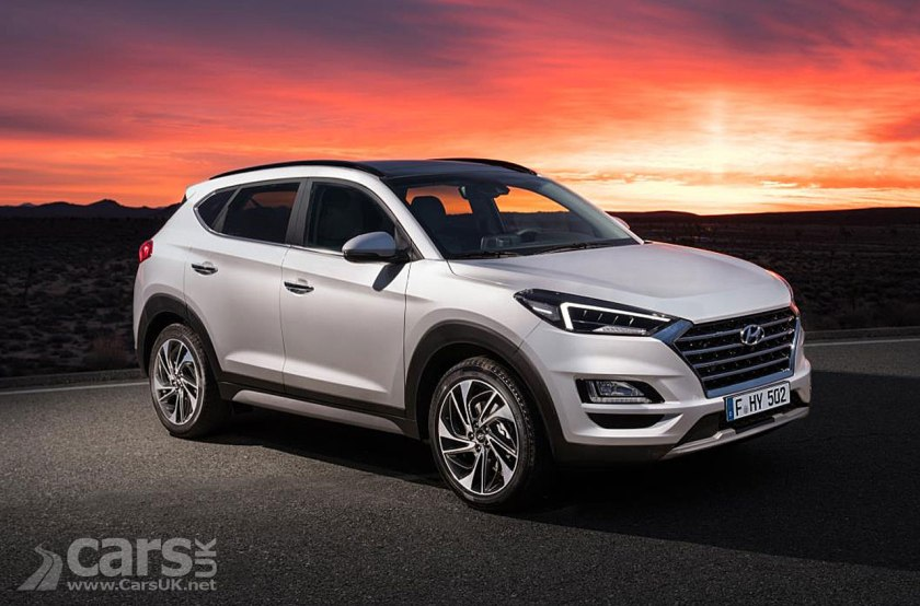Hyundai Tucson Facelift Revealed On Sale In The Uk