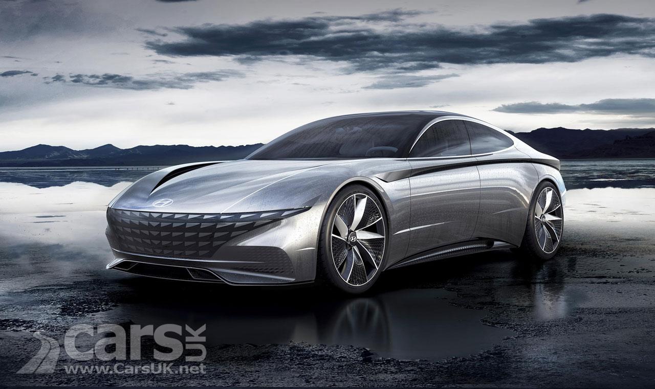 Hyundai Le Fil Rouge Concept previews Hyundai's 'Sensuous Sportiness' future