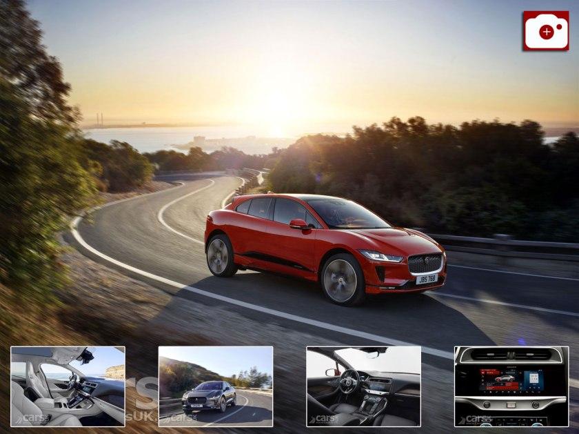 Jaguar i-Pace Photo Gallery