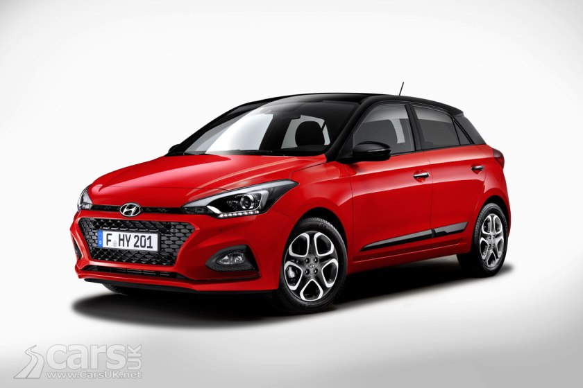 hyundai i20 gets a facelift for 2018 and drops the. Black Bedroom Furniture Sets. Home Design Ideas