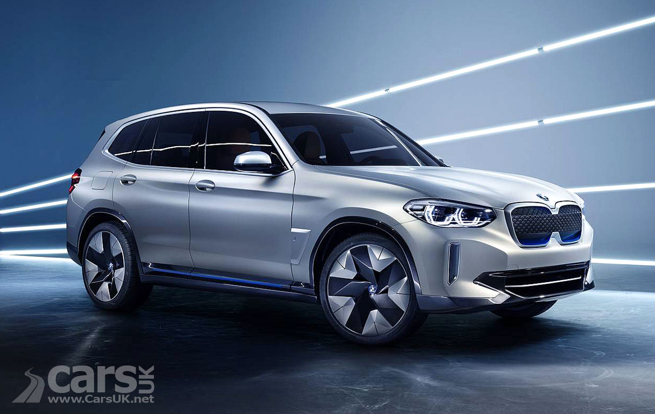 BMW iX3 will be exported to the U.S. and Europe from China