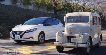 Nissan has been building electric Cars for 70 YEARS – from the Tama to the 2018 LEAF (video)