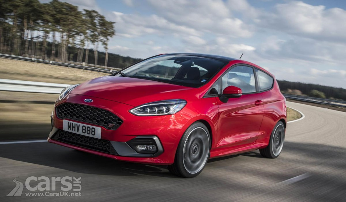 New Ford Fiesta St Uk Price And Specs Announced And Its A Bit Of A