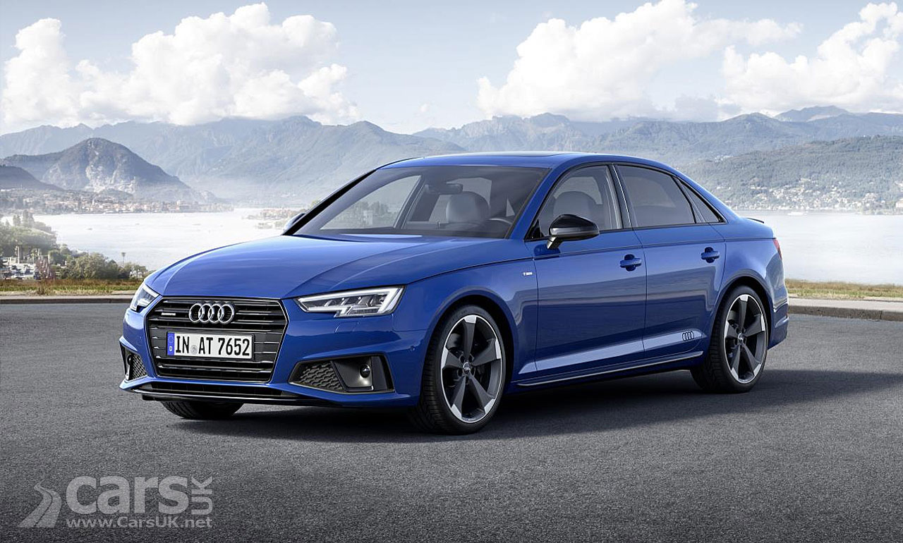 audi a4 a4 avant and saloon gets a mild titivation for 2018 cars uk. Black Bedroom Furniture Sets. Home Design Ideas