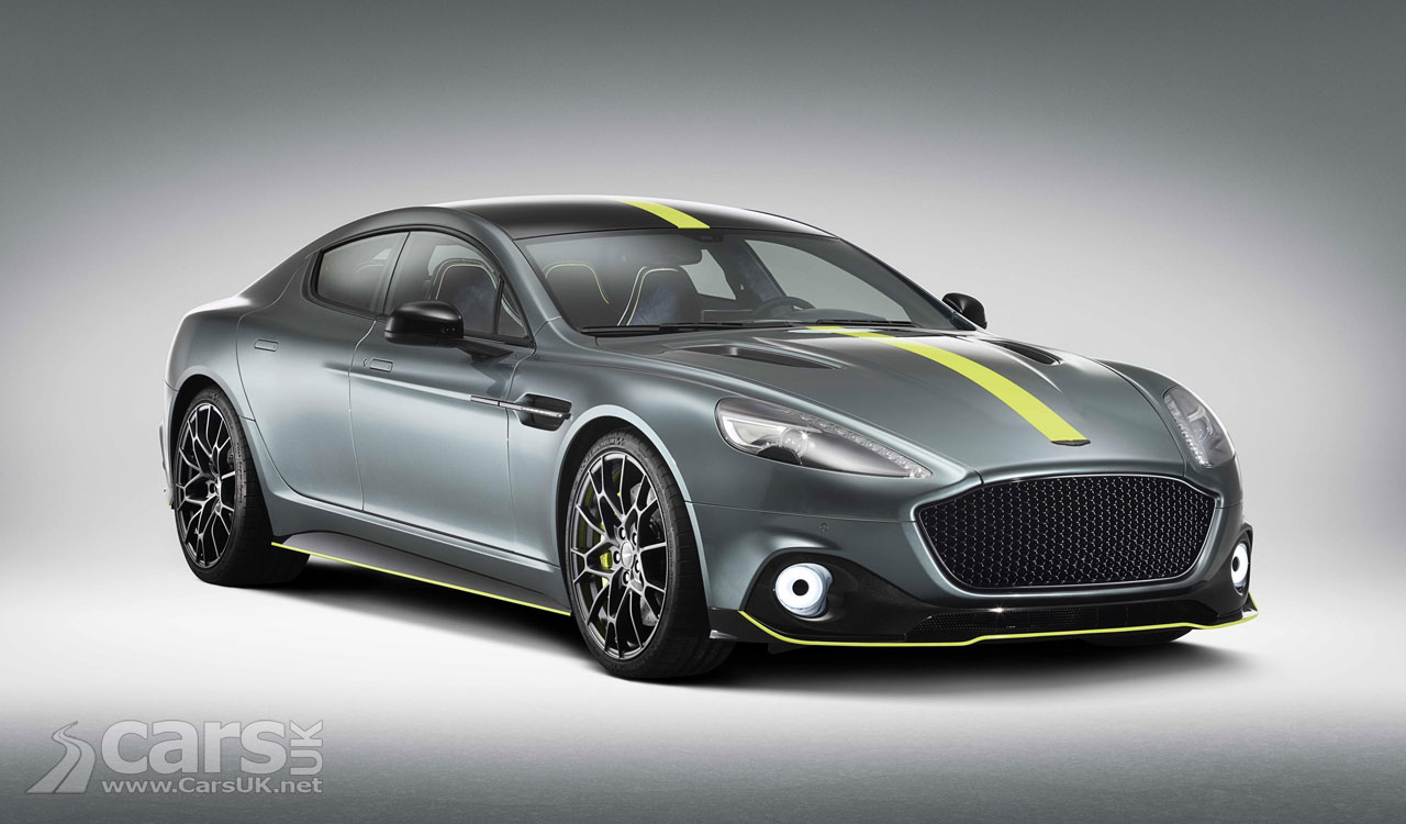 Aston Martin Rapide AMR revealed with 603 PS V12