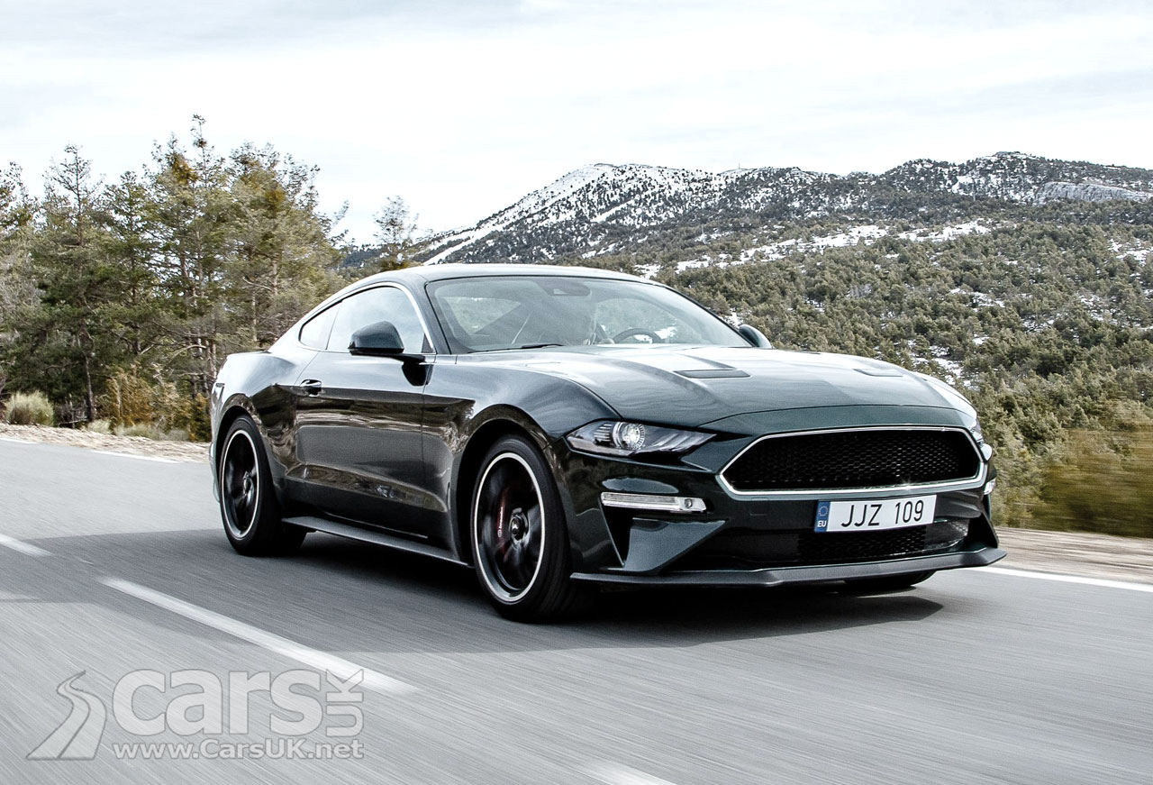 Mustang Bullitt pushes UK Mustang prices close to £50k