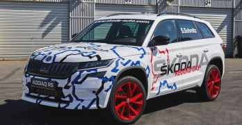 New Skoda Kodiaq vRS breaks a Nurburgring record ahead of launch [Video]