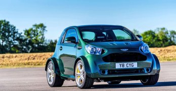Aston Martin Cygnet is BACK – and it's got a 430bhp V8 (video)