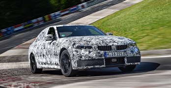 2019 BMW 3-Series OFFICIAL spy photos and Nurburgring video