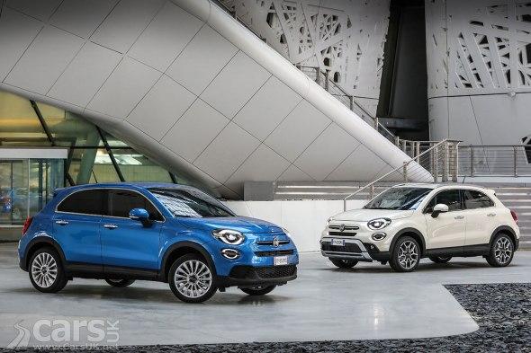 2018 Fiat 500X Urban and 500X Cross