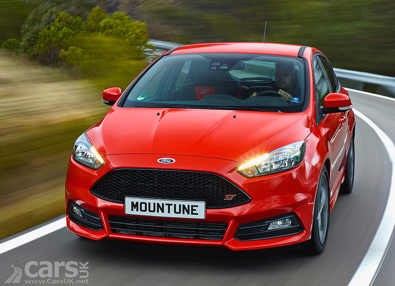 ford focus st diesel gets a bit of a boost from mountune. Black Bedroom Furniture Sets. Home Design Ideas