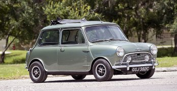 Paul McCartney's 1965 Mini Cooper S DeVille up for grabs