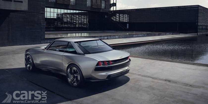 peugeot e legend concept peugeot goes back to the future cars uk. Black Bedroom Furniture Sets. Home Design Ideas
