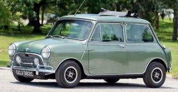 Paul McCartney's 1965 Morris Mini Cooper S De Ville SELLS for £183,000