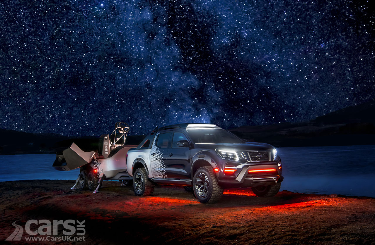 Nissan reaches for the stars with Navara Dark Sky Concept