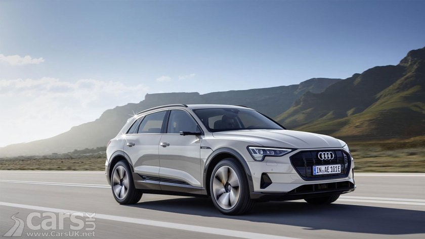 Audi Etron Electric SUV Gets UK Debut Today In Milton Keynes - Audi uk