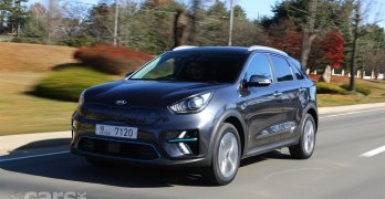 Electric Kia e-Niro First Edition costs £32,995