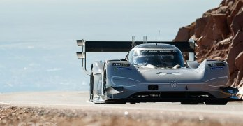 Volkswagen ID R aiming for a Nurburgring lap record
