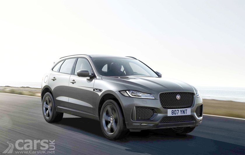 Jaguar F-Pace Chequered Flag Special Edition