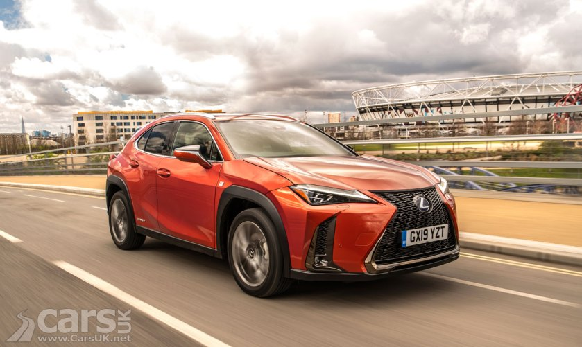 New Lexus UX SUV officially on sale in the UK