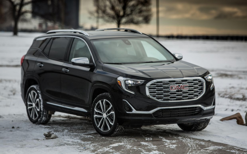 GMC Terrain Spy Photos