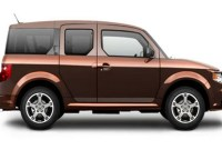 Honda Element Spy Photos