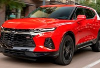 2022 Chevy Blazer RS Release date
