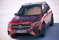 2022 Mercedes Benz GLB SUV Spy Photos