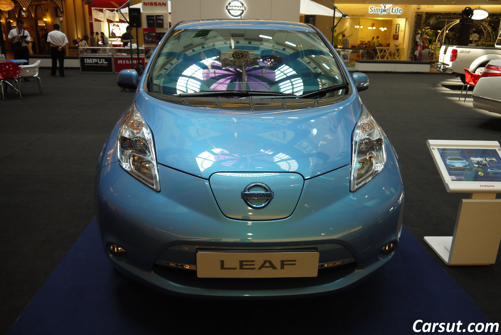 Nissan Leaf Electric Car With No Gas Needed Carsut