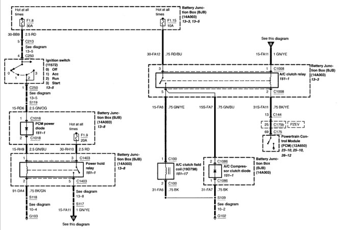 ford focus wiring diagram wiring diagram ford focus ignition switch wiring diagrams