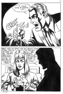 """Satanik #74 """"Lo strano signor Lick"""" – Tavola 22"""