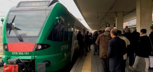 Esterno treno Stadler