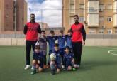 Liga comarcal fútbol base jornada 14