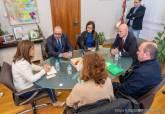 Reunión alcaldesa sindicato FETICO