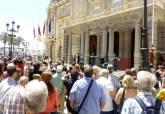 Ambiente y público en la Cruces de Mayo